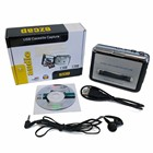 Portable Cassette Tape to MP3 Format USB Flash Thumb Drive Converter Adapter Player Capture w/ Earphone