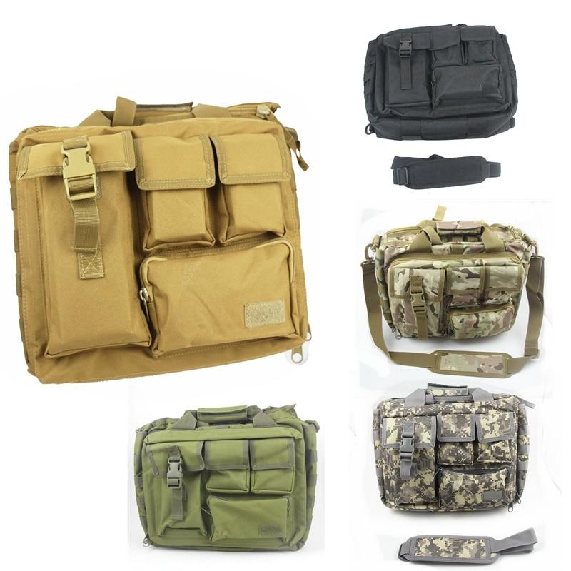 15 laptop bag Outdoor Sport Camping Hiking Trekking laptop Bag Molle Military Tactical Shoulder laptop Bag