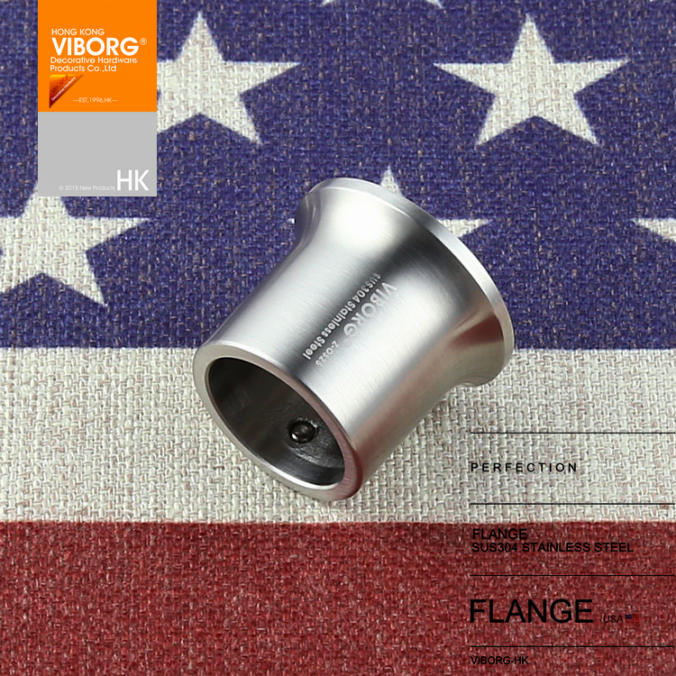 1 Pair VIBORG Solid SUS 304 Stainless Steel Extra Thick