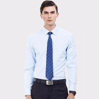 Solid Color Men Shirts 4XL Tailoring Slim Fit Mens Dress Shirts Male Clothes Social Casual Shirt