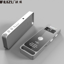 RUIZU X01 Sport Mini Portable MP3 Music Player Hidden Digital Audio Voice Recorder Pen 8GB Dictaphone Lecteur MP 3