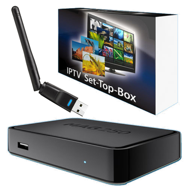 Горячие Iptv Set Top Box Mag 250 Системы Linux Iptv европа Mag250 STi7105 Mag250 Linux TV Box 256 М То Же Самое С Mag254 Сми плеер