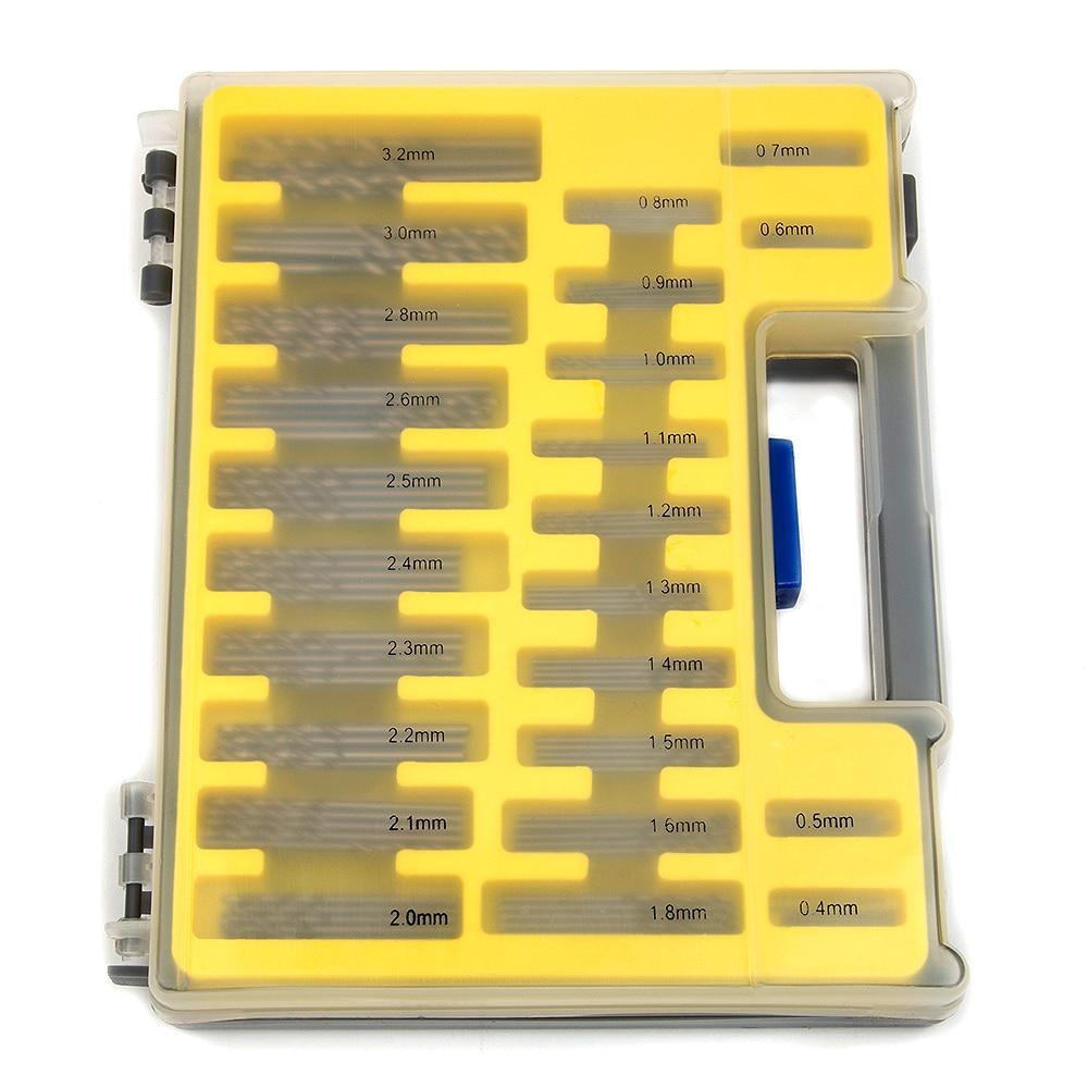150PCS 0.4-3.2mm Juego de brocas de pequeña precisión con estuche - Broca - foto 4