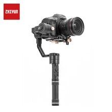ZHIYUN кран плюс стабилизатор 3 оси Быстрый баланс моторизованный карданный вал Для беззеркальных Камера DSLR, Поддержка 2,5 кг POV режим ручной