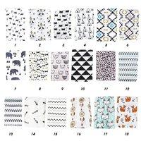 Muslin Baby Swaddle Blanket Baby Swaddle Newborn Baby Bath Towel Swaddle Blankets Multi Designs Functions Baby