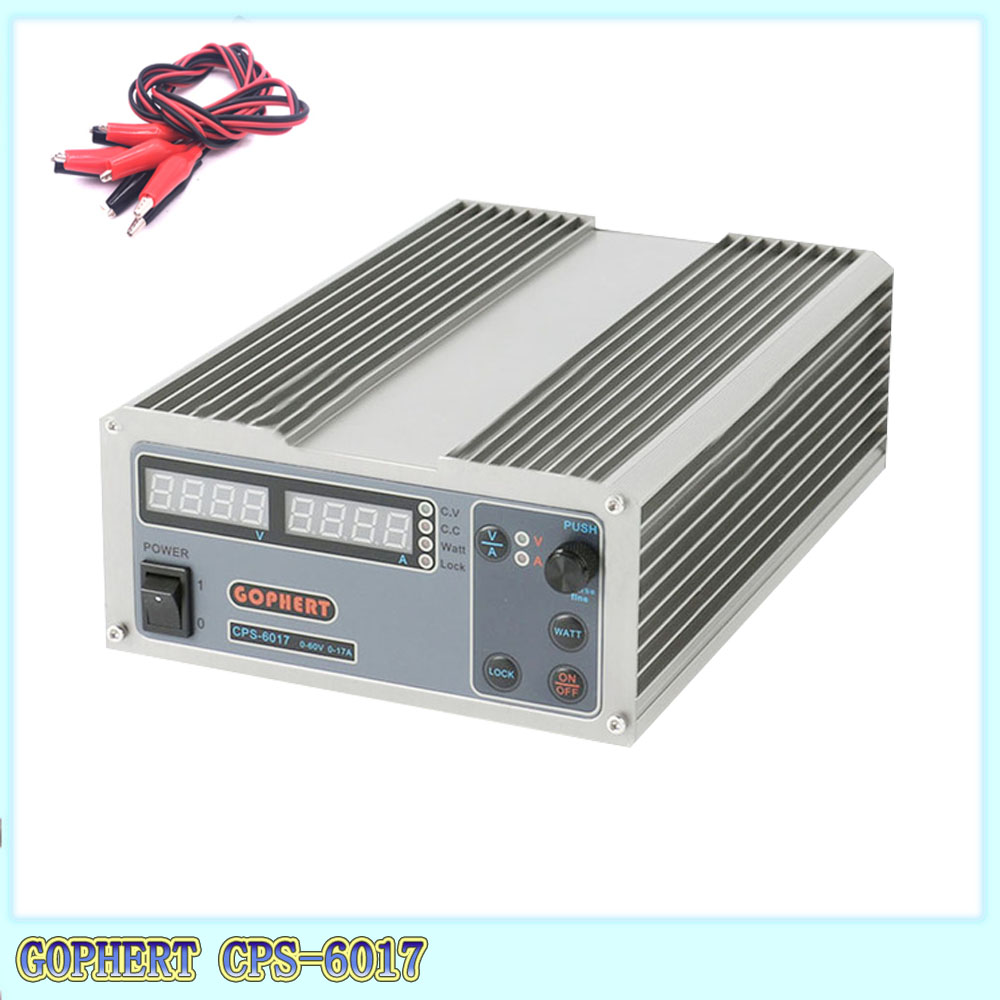 The CPS-6017 version <font><b>1000</b></font> <font><b>W</b></font> has been updated. 0 - <font><b>60</b></font> <font><b>V</b></font> / 0 - 17 A, high power digital variable DC power supply CPS 6017 220 <font><b>V</b></font>. image