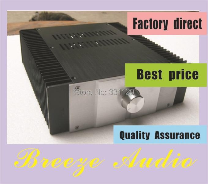 Breeze Audio-aluminum chassis for power amplifier CLASS A JC229 development version PASS breeze audio hifi cnc power amplifier aluminum chassis bz3608b