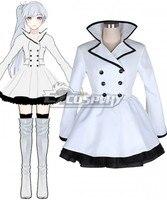 RWBY Weiss Schnee White Cosplay Costume E001