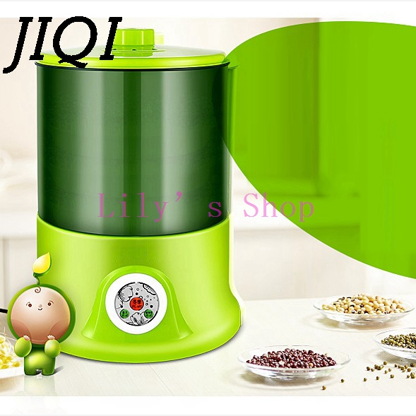 Household Intelligence Bean Sprouts Machine Upgrade Large Capacity Thermostat Green Seeds Growing Automatic Bean Sprout Machine bean sprout machine germination intelligence home double layer nursery pots automatic bean sprouts machine kitchen electrical