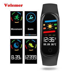 Volemer M3S умный Браслет Цвет экран IP67 Фитнес трекер измерять кровяное давление монитор сердечного ритма Смарт для Android IOS Телефон