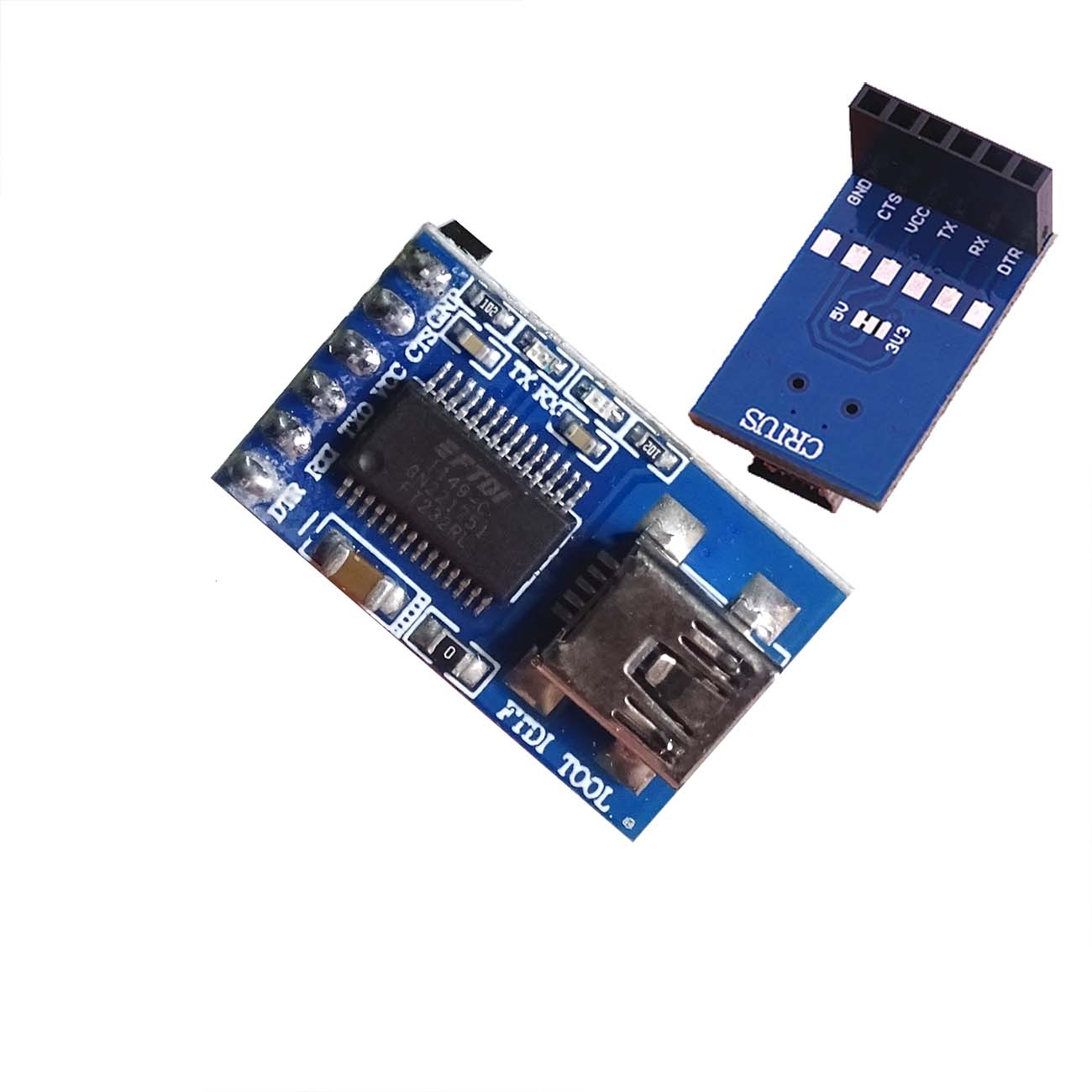 Active Components Integrated Circuits 1pcs Ftdi Basic 5v Usb To Ttl Mwc Programmer/serial Debugger/program To Upload Tool
