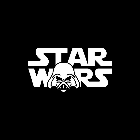 Star Wars Vinyl Decal Sticker Car Helmet Wall Window Laptop StarWars Symbols Art
