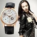 WoMaGe Watches Women Watches Fashion Ladies Watch Flowers Luxury Crystal Watch Female Clock Hour relogio feminino montre femme