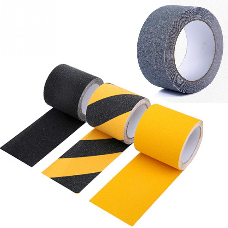5cm*5M PVC Frosted Surface Anti Slip Tape Waterproof Safety Warning Traction Tape Abrasive for Stairs Tread Step Safety Tape 5cm 5m frosted surface anti slip tape abrasive for stairs tread step safety tape non skid safety tapes