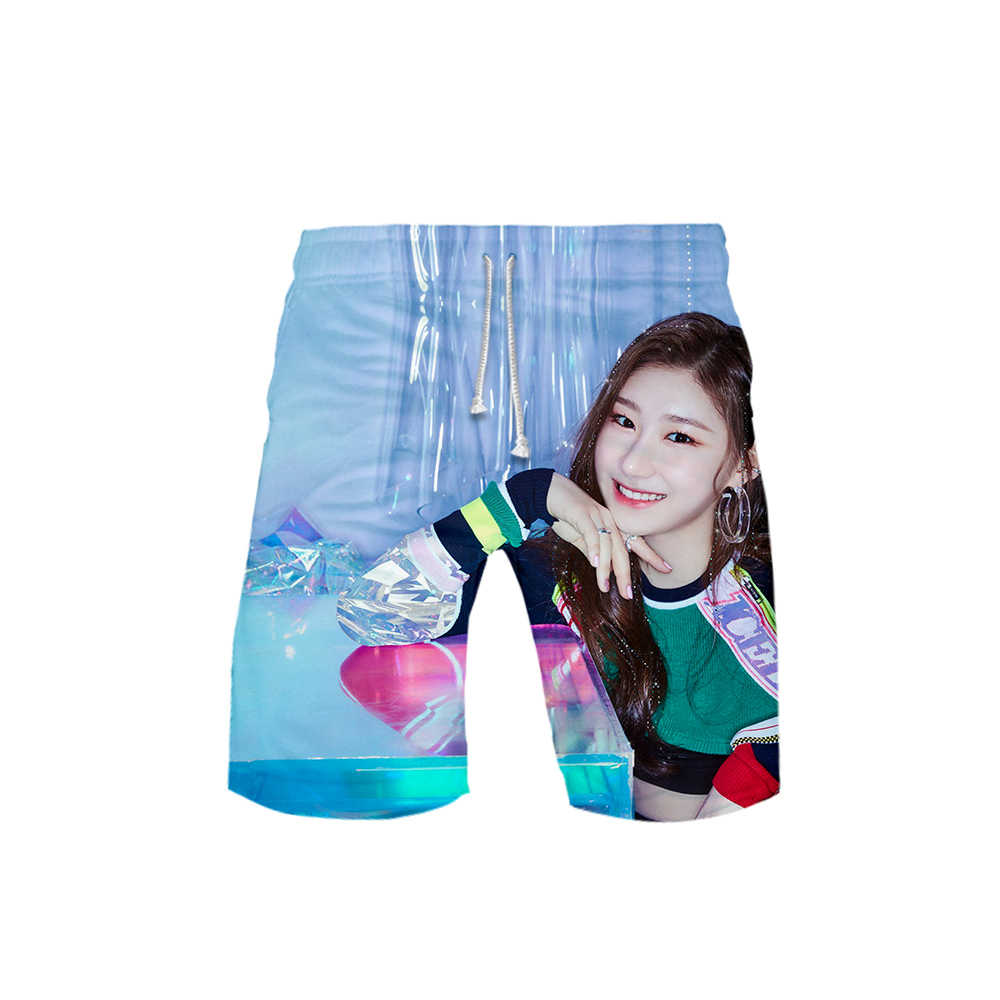 Kpop Itzy Dalla Dalla Yeji Lia Ryujin Chaeryeong Yuna 3d Print Summer Men Fashion Trend Shorts Popular Casual Summer Shorts