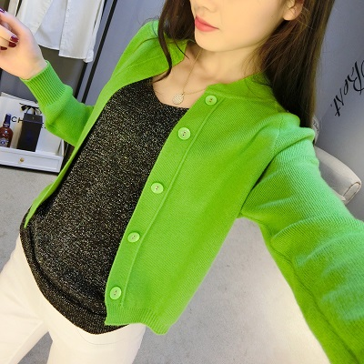 Spring Autumn New Style Women Cardigan Cashmere Wool Sweater O-Neck Slim big yards Size Knitted Sweater Women Sweaters