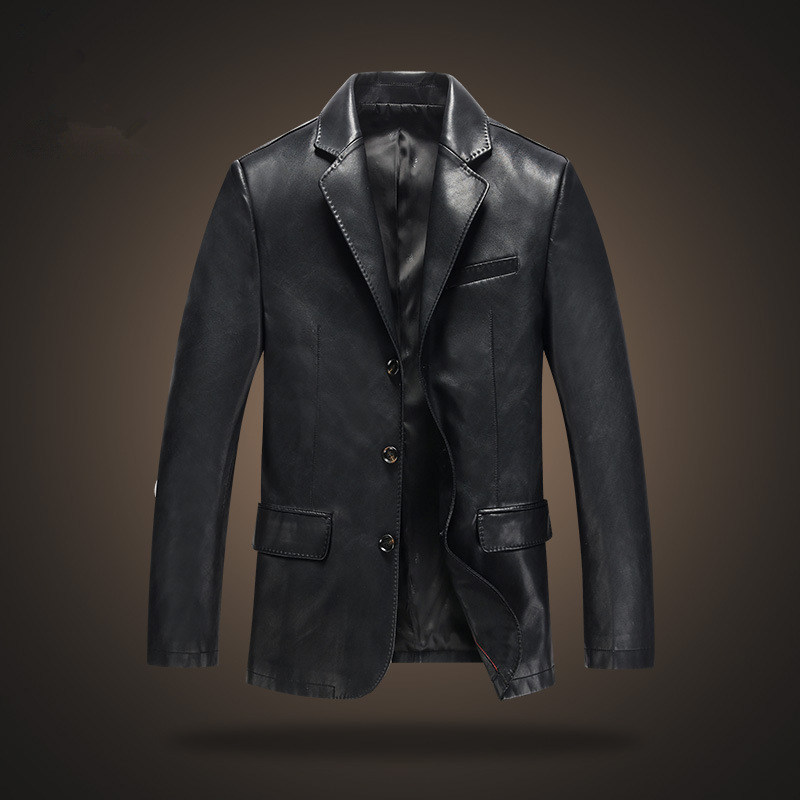 Mens Leather Dress Jackets - Jacket