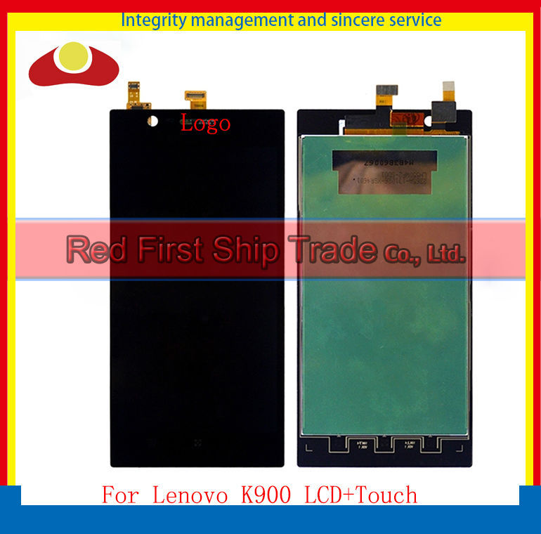 20Pcs/lot DHL EMS High Quality 5.5 For Lenovo K900 Full Lcd Display Touch Screen Digitizer Sensor Assembly Complete Black 20pcs lot dhl ems high quality 5 0 for