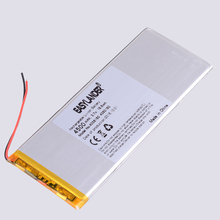 Lithium-Polymer-Battery Batteries Tablet-Pcs 4500mah with Board for DIY Power-Bank Large-Size