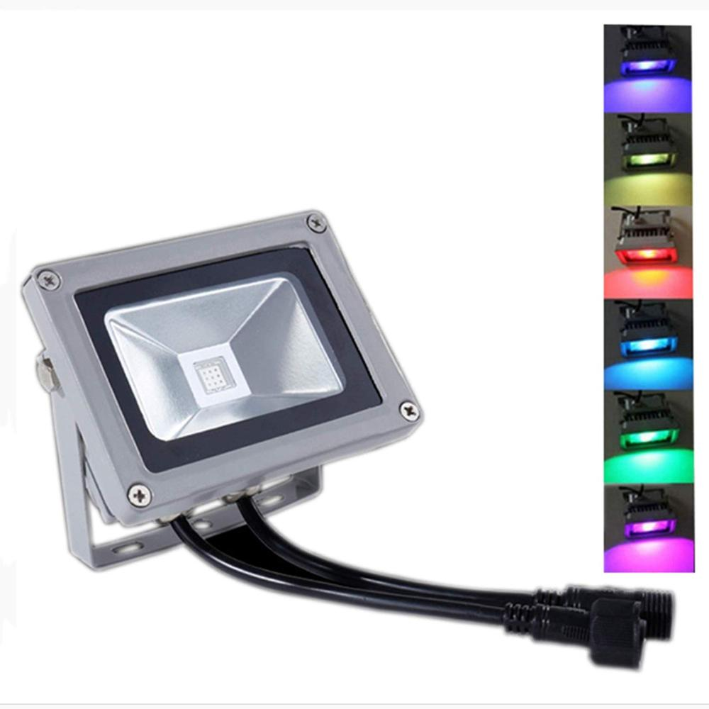 DC24V 10W 20W 30W 50W RGB DMX LED flood light lamp outdoor LED floodlight support DMX512 control DMX512 Landscape Lamp