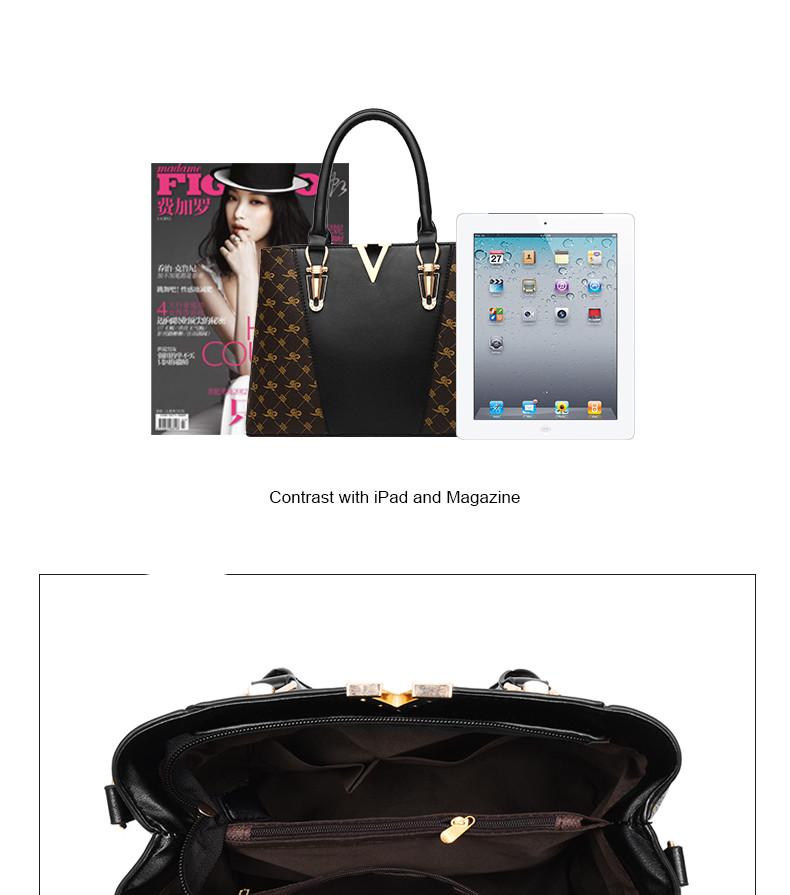 Women Bags Set 2 Pcs Leather Handbag Women Tote Bag Ladies Shoulder Bag for Women 2018 Messenger Bag Sac a Main 32