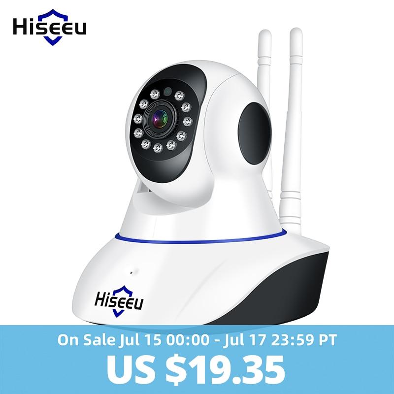 1080 Wifi IP Camera Wireless support AP mode 1080P IP Network Camera wi-fi CCTV WIFI P2P Onvif IP Camera 1920*1080P FH1C Hiseeu كاتم العقيلات