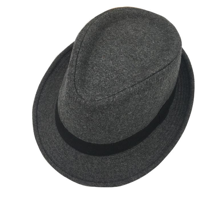 HTB16izpdjoIL1JjSZFyq6zFBpXab Original Unisex Structured Wool Fedora Hat  Fedora hats for men fedora felt hat head size facba103effb