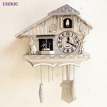 Fashion wall clock window the heralds swing pocket watch modern brief cuckoo clock