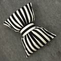 Hot Saling Baby Bed Pillow Black Bow Stuffed Doll Glow In The Dark Decoration Soft Cushion Cotton Toy Floor Pillow 1pcs