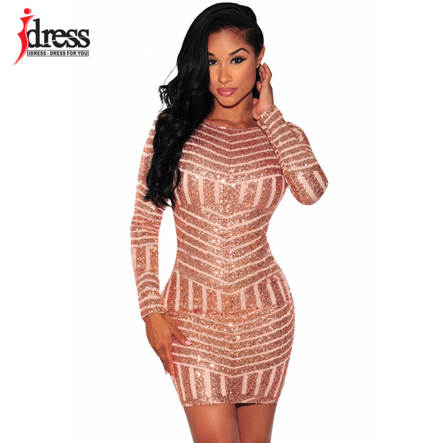 Aliexpress.com : Buy IDress Women Bodycon Club Dress 2017 ...