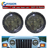 Newest 7inch Round 80W Auto Led Headlight Car Led Lights 12V 24V Offroad Led Headlamp With