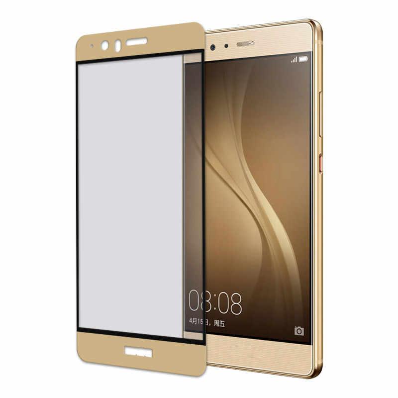 Protecteur d'écran en verre trempé imprimé en soie pour Huawei V8 G8 GX8 P9 Plus Film de protection complet Anti-Explosion Film de téléphone