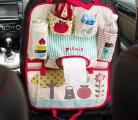 متعدد جيب المقعد الخلفي حقيبة عربة سيارة سيات المنظم حامل التخزين التصميم كأس الغذاء الهاتف تخزين المومياء حفاضات حقيبة