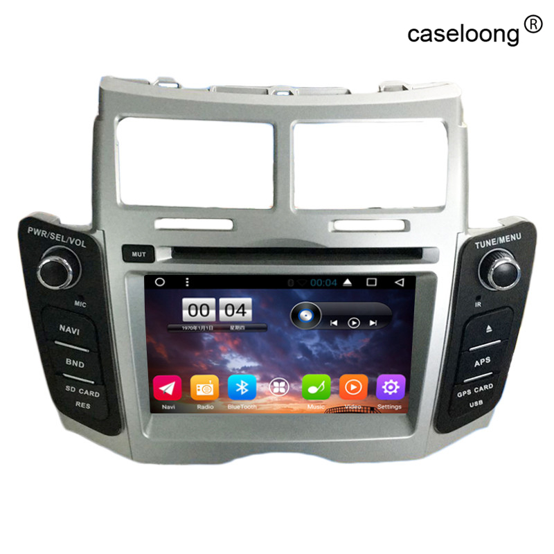 android 6 0 car dvd player for toyota yaris 2008 2009 2010. Black Bedroom Furniture Sets. Home Design Ideas
