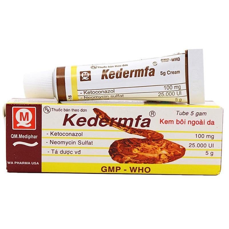 Vietnam Kedermfa Original Snake Oil Hand Skin Face Care Cream Snake Balm Ointment 5g/tube Nourishing Skin Moisture Body Cream