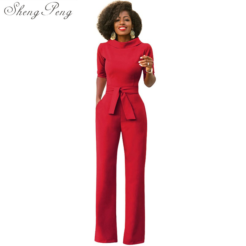 Jumpsuits for women 2018 solid casual fashion elegant rompers womens jumpsuit sexy bodysuit street wear spring hot sale CC294