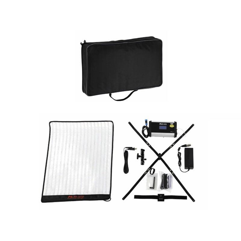 LED 3000-5600K ajustar fotografía Falcon Eyes RX-18TD Conjunto de Luz de vídeo 100W 504 un