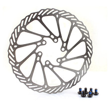 Mountainbike line mechanical brake disc / disk disc: 160mm 6 hole type screw
