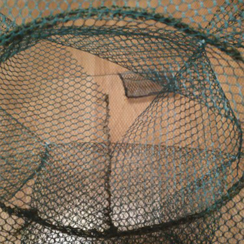Folded Fishing Net 4 6 8 12 16 Hole Folding Portable Automatic Fish Shrimp Trap Iscas Fish Minnow Crab Bait Cast Mesh Trap Pesca in Fishing Net from Sports Entertainment
