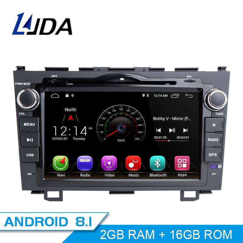 LJDA 2 Din Android 8 1 Car Radio For Honda CRV CR V CR V 2006