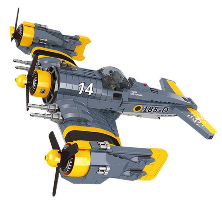 LEPIN Technique La Belle Science Fiction Avions de Combat Blocs de Construction Ensemble Espace Bleu Rivière Combattant Jouets pour enfants