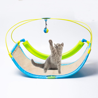Mastone Family Pet Kitty Cat Sweet Swing Bed With Toys Exercise Cradle Cat Bed Sofa Pet