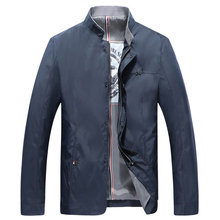 Solid Color Jackets Men Casual Jacket Polyester Coat Outerwear 2019 Fashion Spring Mens Male HN03