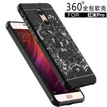 For Xiaomi Redmi Pro Case Cover Mobile Phone Anti-knock Armor Capa Silicon For Redmi Pro Protective Shell Funda For Men
