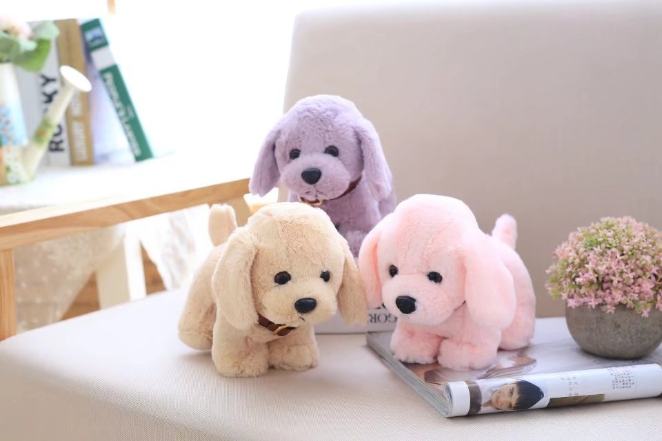 Stuffed Puppy Teddy Dog Plush Soft Animal Toy Cute Baby Small Doll Gifts