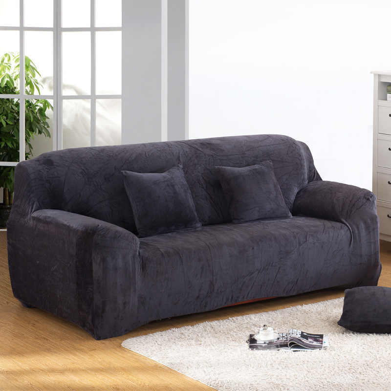 Plush Stretch Sectional Sofa Covers