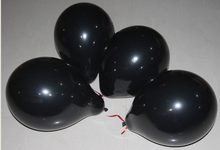10inch white black lightproof colorful Latex Balloons for Birthday Wedding Party Decoration Wholesale(China)
