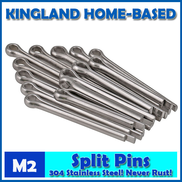 "1//16/"" Stainless Steel Cotter Pins 304 Stainless Steel Split Pins QTY 1,000"