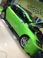 3 слоя глянцевый зеленый винил пленка блестящие глянцевые пленки с воздухом без пузырьков для автомобиля Наклейка Наклейки покрытие PROT обе