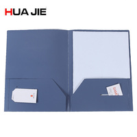 1pc/lot Durable 3 hole punch 2 pocket Report Cover plastic school folders,binder pocket Presentation Folders